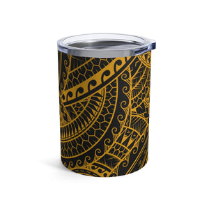 Tribal Tumbler Cup 10oz (Yellow)
