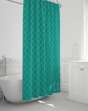 "Load image into Gallery viewer, Spear Shower Curtain 72""x72"""