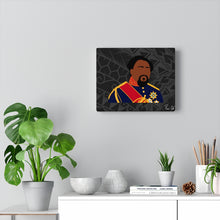 Load image into Gallery viewer, King Kamehameha V Canvas Gallery Wraps (Black)