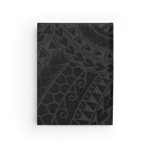 Tribal King Kamehameha V Journal - Ruled Line (Black)