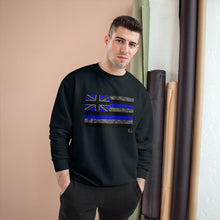 Load image into Gallery viewer, Kanaka Kollection Tribal Flag Champion Sweatshirt (Royal Blue)