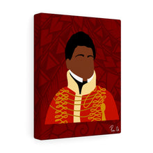 Load image into Gallery viewer, King Kamehameha II Canvas Gallery Wraps (Red)