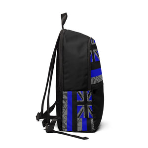 Kanaka Kollection Tribal Flag Unisex Fabric Backpack (Royal Blue)
