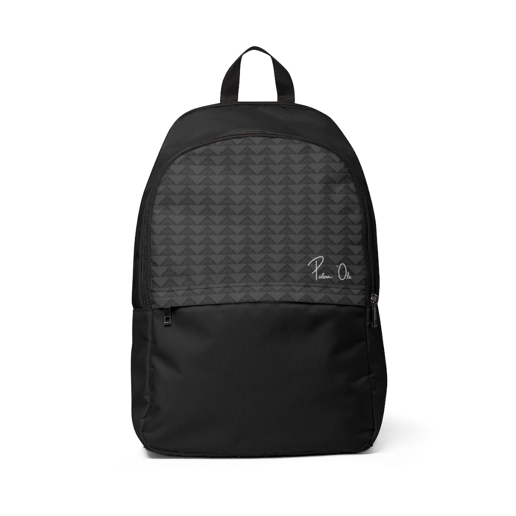 'Io Script Unisex Fabric Backpack