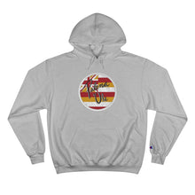 Load image into Gallery viewer, Kanaka Kollection Palena 'Ole Flag Champion Hoodie (White)