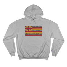 Load image into Gallery viewer, Kanaka Kollection Tribal Flag Champion Hoodie (Y/G)
