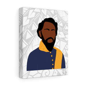 King Kamehameha IV Canvas Gallery Wraps (White)