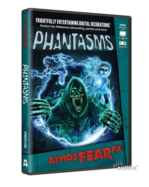 Phantasms Dämonen Kino Projektionen DVD Edition