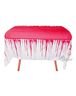 Tischdecke Blutbad Buffet - SCREAMSTORE