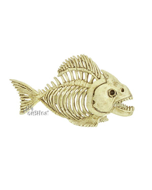 Skelett Horror Piranha - SCREAMSTORE