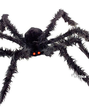 Spinne mit Leuchtaugen XL - SCREAMSTORE