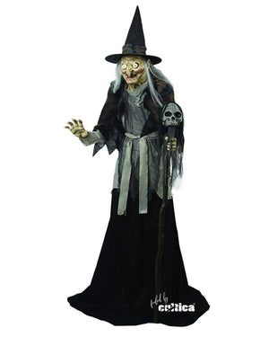 "Animatronic ""Grabbing Witch"" - SCREAMSTORE"