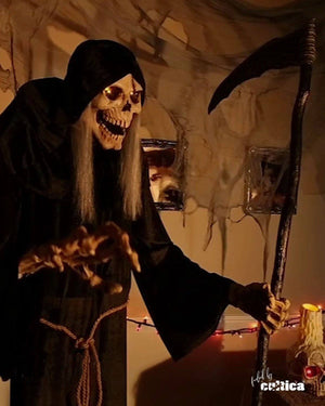 "Animatronic ""Grabbing Reaper"" - SCREAMSTORE"