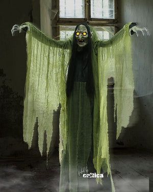 "Animatronic  ""Giant Witch Agatha"" - SCREAMSTORE"