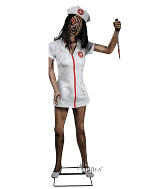 Faceless Nurse Zombie Krankenschwester