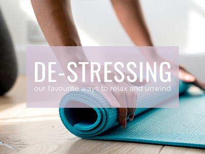How we De-stress and Relax