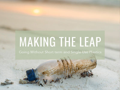 Making The Leap: Going Without Short term and Single Use Plastics