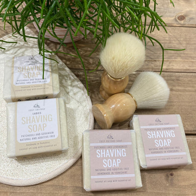 Natural Shaving Soap - A Fresh Approach to Smooooooth