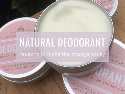 5 Reasons to Switch to Natural Deodorant
