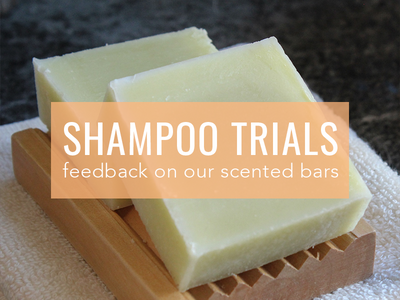 Notes on: Fragranced Shampoo Trials