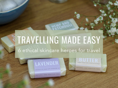6 Ethical Skincare Heroes To Make Travelling A Breeze