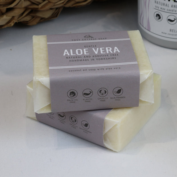 Cosy Cottage Soap Aloe Vera Soap