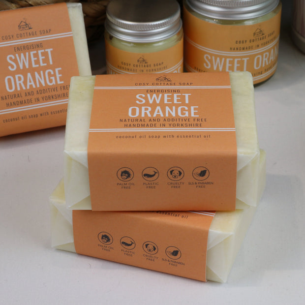 Energising Sweet Orange Soap