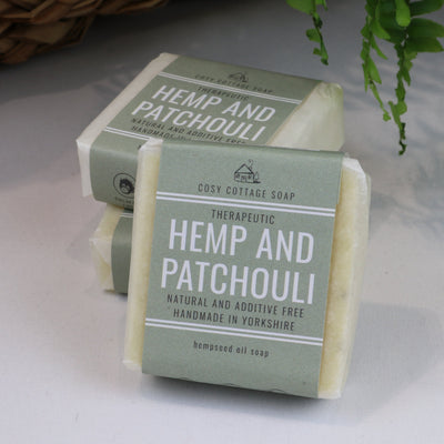 Therapeutic Hemp & Patchouli Soap