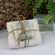 Cosy Cottage Soap 55g Hemp & Patchouli Soap & Cloth Set