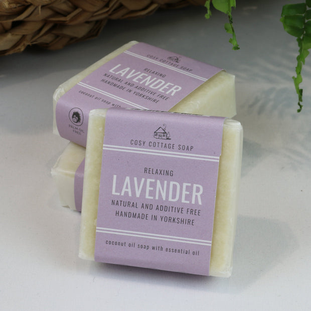 Cosy Cottage Soap Plastic & Palm Oil Free Starter Box With Lavender Soap
