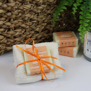 Cosy Cottage Soap 55g Sweet Orange Soap & Cloth Set
