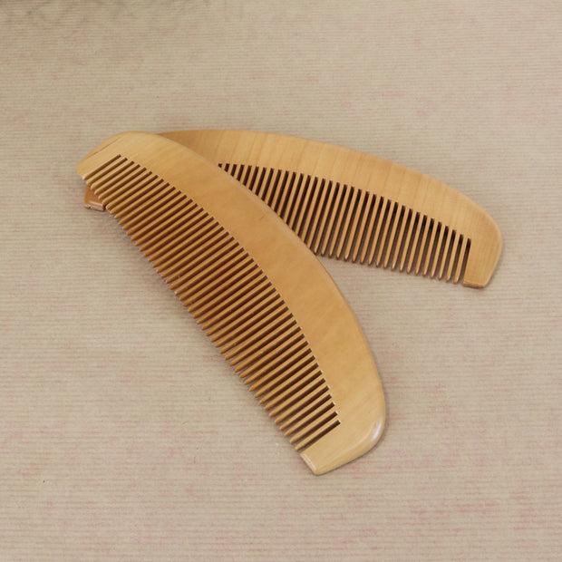 Bamboo Wide-Tooth Wooden Hair Comb