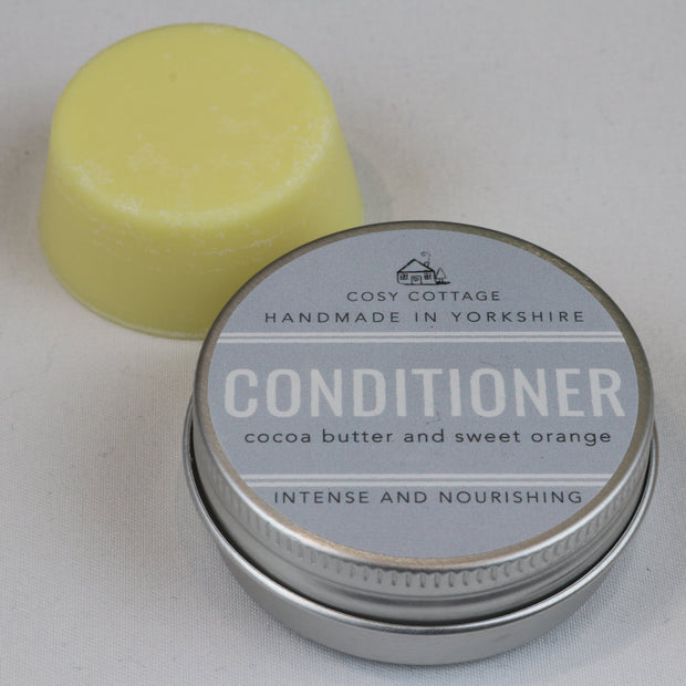 Cosy Cottage Soap  Solid Conditioner Bar With Tin