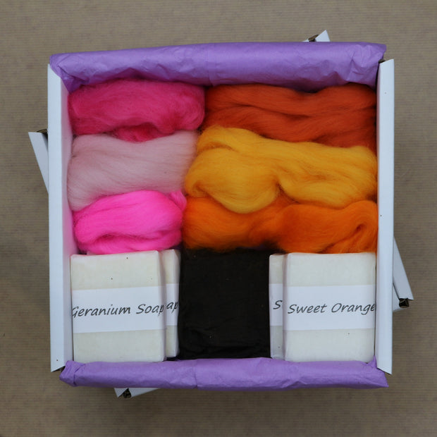 Make Your Own Felted Soaps - A Cosy Crafts Kit