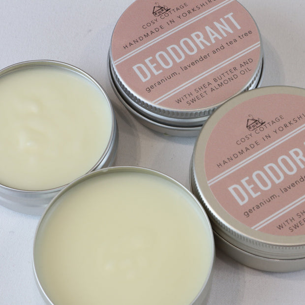 Cosy Cottage Soap Natural Aluminium Free Palm Oil Free Deodorant
