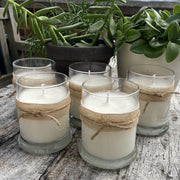 Lemongrass Garden Candle - Ideal for Cosy Evenings