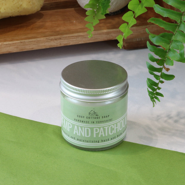 Cosy Cottage Soap Hemp & Patchouli Body Cream 60ml