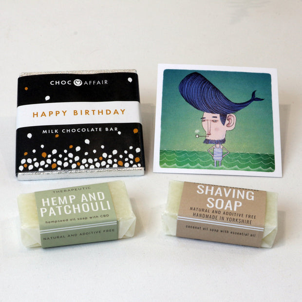 Cosy Cottage Soap Little Bit Of Love Set Happy Birthday Gift For Him