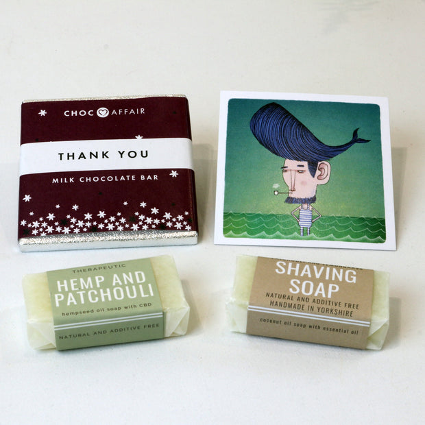 Cosy Cottage Soap Little Bit Of Love Set Thank You Gift For Him