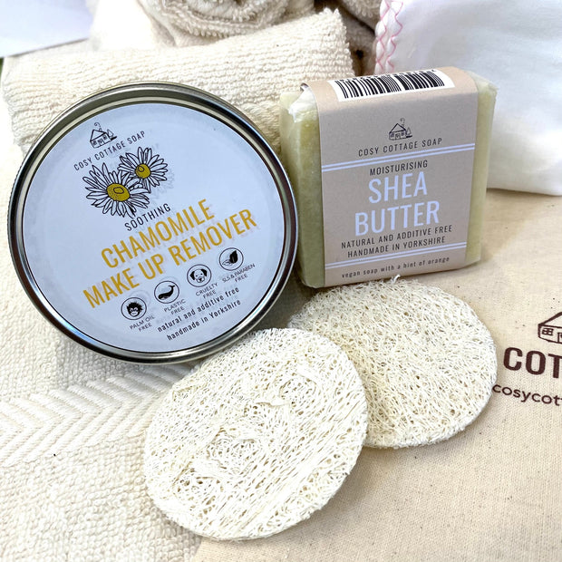 Cosy Cottage Soap Three-Step Facial Kit With make Up Remover & Facial Soap
