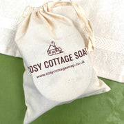Cosy Cottage Soap Three-Step Facial Kit With make Up Remover & Facial Soap In A Cotton Drawstring Bag