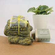 Men's Hempseed Oil Soap & Woollen Sock Set
