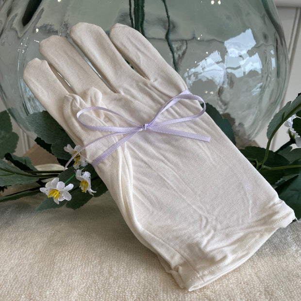 Relaxing Lavender Hand & Body Cream (with optional bamboo gloves)