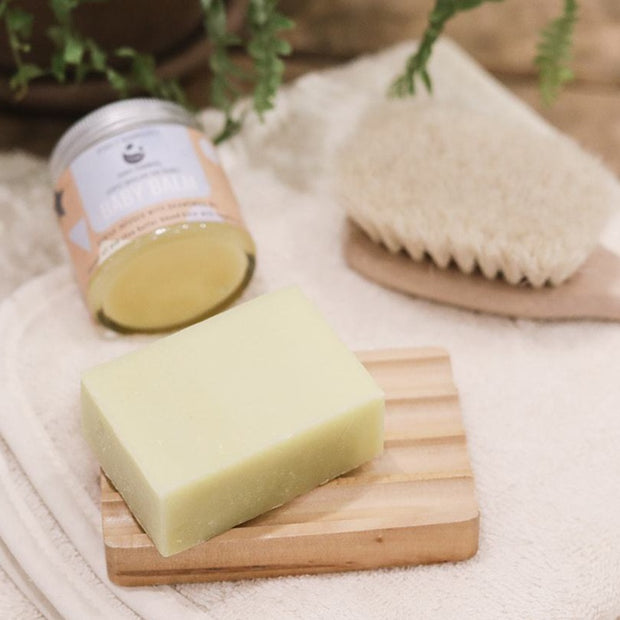 Cosy Cottage Soap Cosy Cuddles Baby Soap with hairbrush and baby balm
