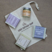 Cosy Cottage Soap Plastic & Pam Oil Free Essentials Set