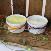 Cosy Cottage Ramekin Candles in Lavender & Cinnamon & Orange