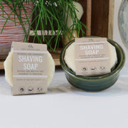 Cosy Cottage Soap Large 95g Shaving Soap and ceramic dish