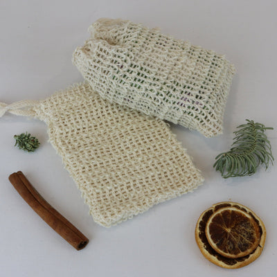 Cosy Cottage Soap Natural Sisal Soap Bags