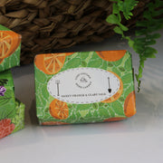 Cosy Cottage Soap Herb Garden Soaps in Sweet Orange & Clary Sage