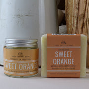 Sweet Orange Soap & Cream Set